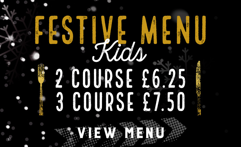 Kids Festive Menu at The Flanagan's Apple